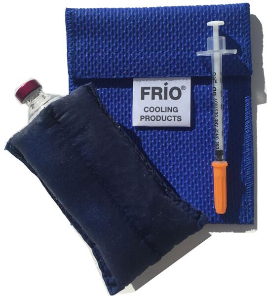 Frio: чехол для хранения инсулина при оптимальной температуре