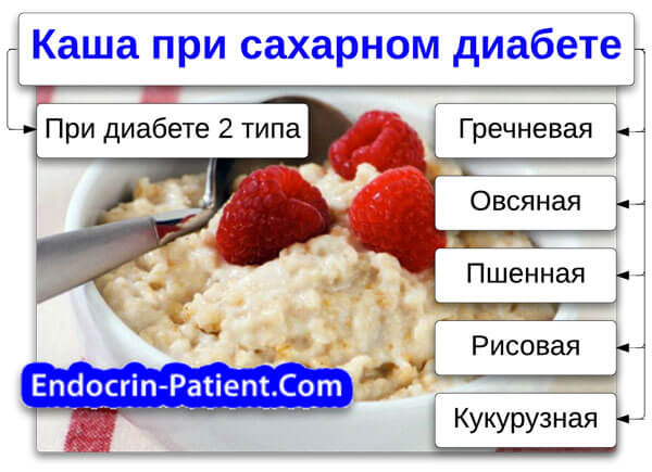 Полезная крупа при сахарном диабете 2 типа